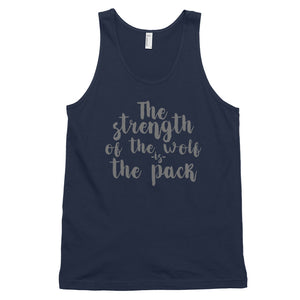 Strength of the Pack tank top (MADE IN THE USA)
