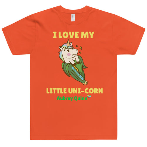 I Love My Little Uni-Corn T Shirt