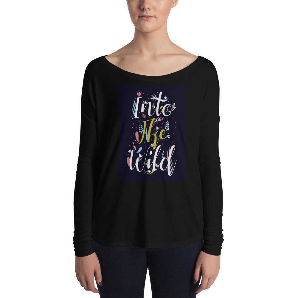 Into the Wild Ladies' Long Sleeve Tee