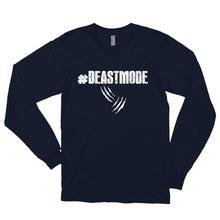 Load image into Gallery viewer, #BEASTMODE Long sleeve t-shirt (MADE IN THE USA)