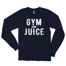 Load image into Gallery viewer, GYM AND JUICE Long sleeve t-shirt (MADE IN THE USA)
