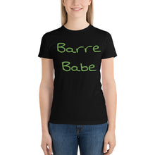 Load image into Gallery viewer, Barre Babe 2 Short sleeve women's t-shirt Made in the USA
