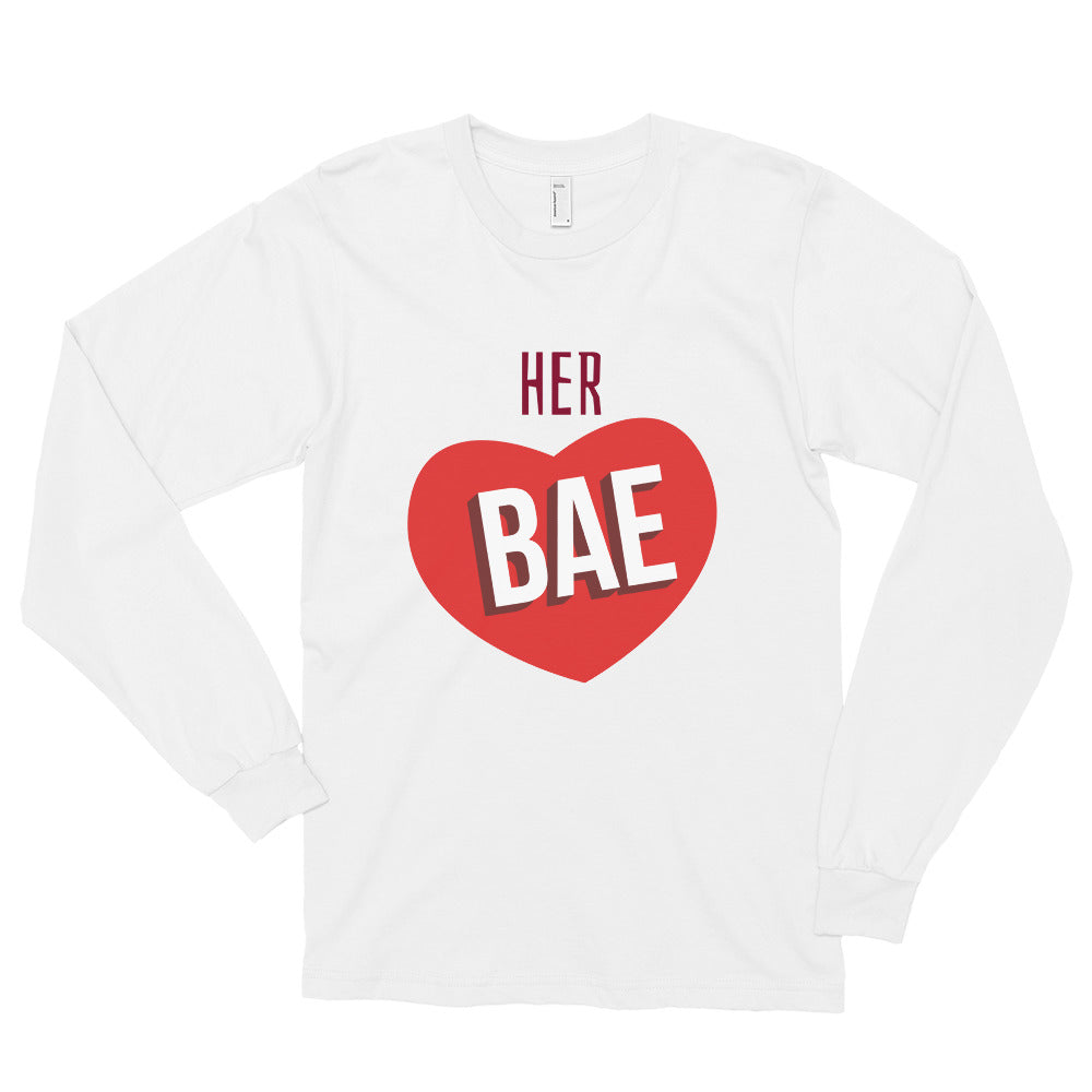 HER BAE Long sleeve t-shirt (MADE IN THE USA)