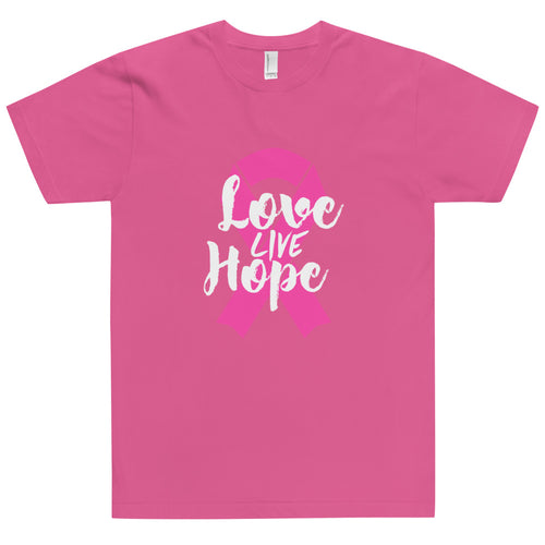 Live Love Hope Tshirt Made in the USA