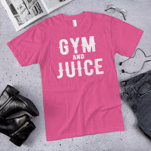 Load image into Gallery viewer, GYM AND JUICE T-Shirt (MADE IN THE USA)