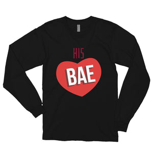 HIS BAE Long sleeve t-shirt (MADE IN THE USA)