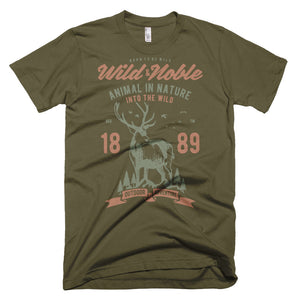Wild and Noble T-Shirt Made in the USA