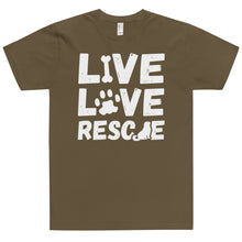 Load image into Gallery viewer, LIVE LOVE RESCUE T-Shirt (MADE IN THE USA)