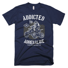 Load image into Gallery viewer, Addicted to Adrenaline T-Shirt Made in the USA