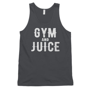 GYM AND JUICE Classic tank top (MADE IN THE USA)