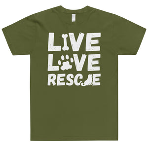 LIVE LOVE RESCUE T-Shirt (MADE IN THE USA)