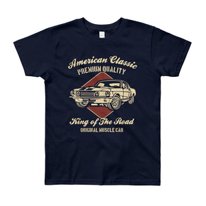 AMERICAN CLASSIC Youth Short Sleeve T-Shirt 8 - 12 YEARS OLD