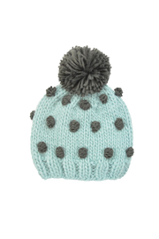 The Blueberry Hill - Popcorn Hat - Blue/Green