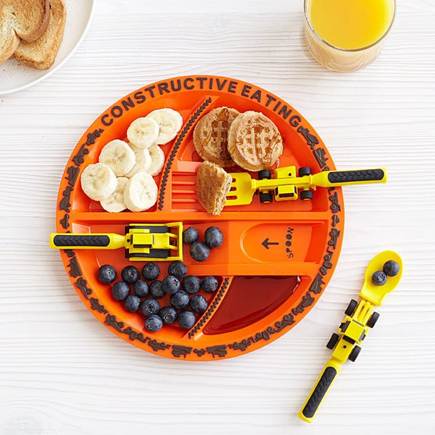 Construction 3 Piece Feeding Set