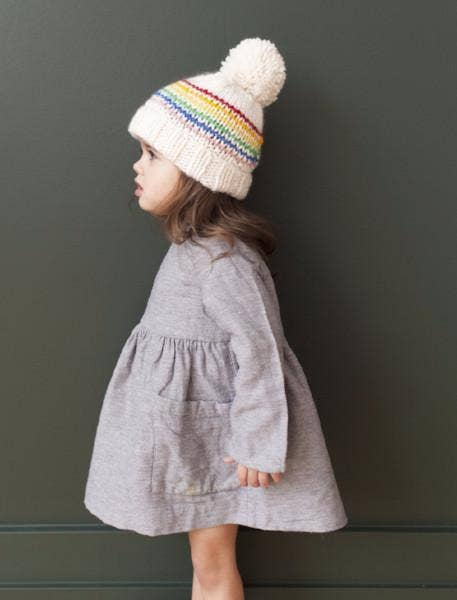 The Blueberry Hill - Reagan Rainbow Beanie