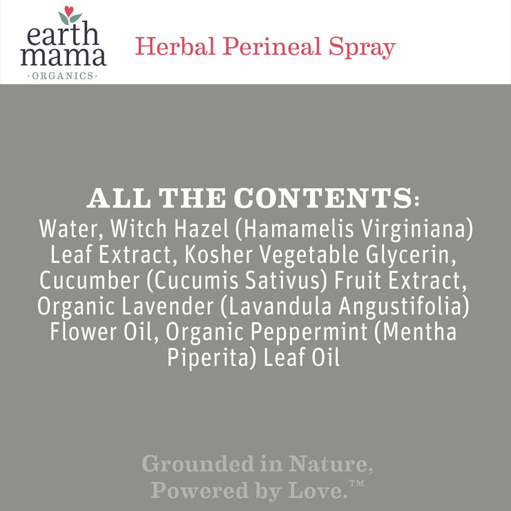 Earth Mama Herbal Perineal Spray