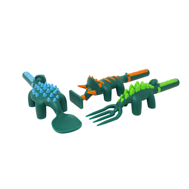 Dino Feeding 3 Piece Feeding Set