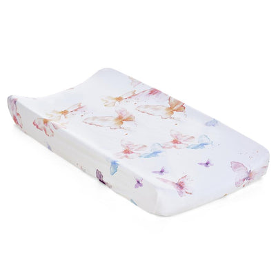 Jersey Changing Pad Cover - Butterfly