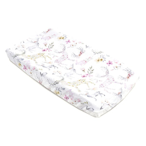Oilo Fawn Jersey Changing Pad Cover