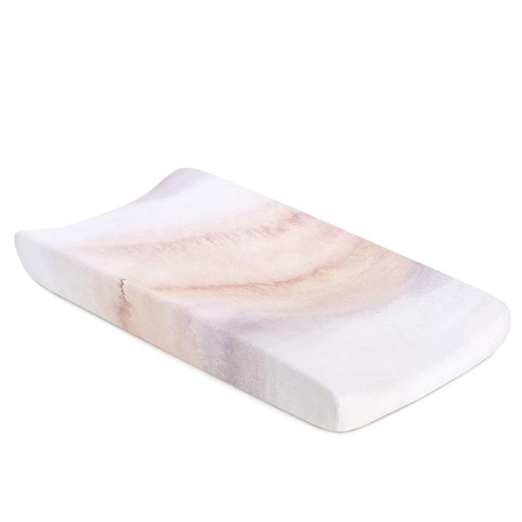 Changing Pad Cover Jersey - Sandstone