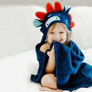 Bamboo Dino Hooded Towel