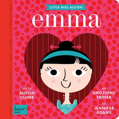 BabyLit Board Book - Emma