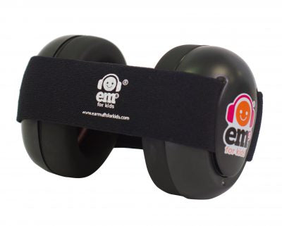 Ems for Kids Baby Earmuffs - Black