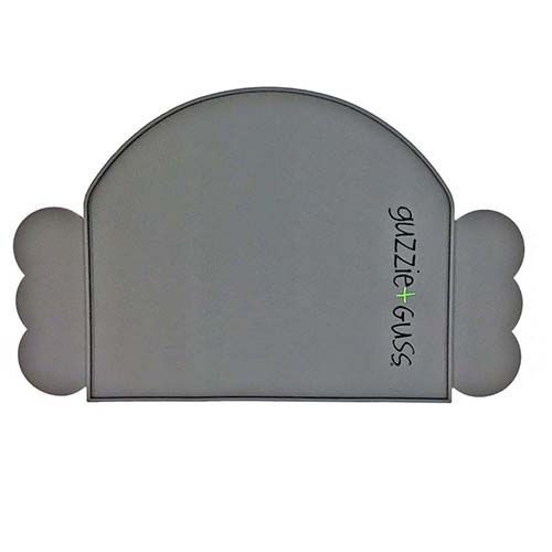 Guzzie & Gus Perch Placemat - Gray
