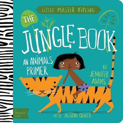 BabyLit Board Book - The Jungle Book