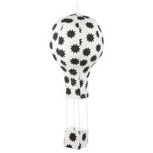 Hot Air Balloon Black and White Mobile