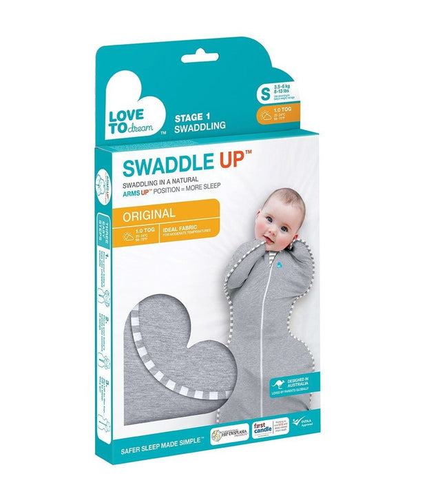 Love to Dream Swaddle Up Original Gray