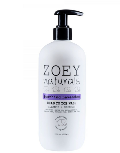 Zoey Naturals Head to Toe Wash