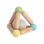 Plan Toys Pastel Triangle Clutching Toy