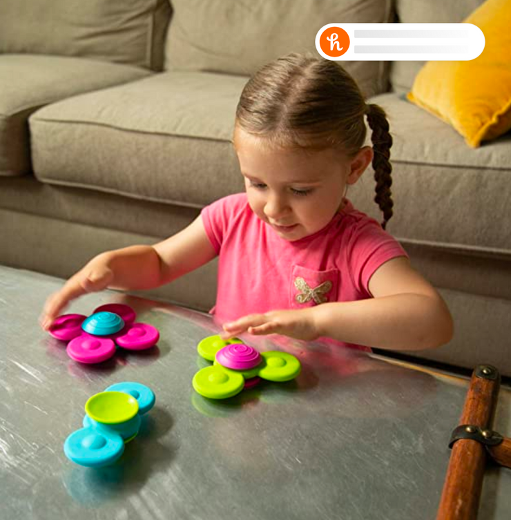 Fat Brain Toys Whirly Squigz