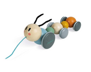 Janod Pull Toy Caterpillar