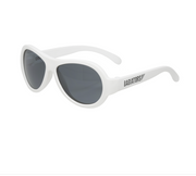 Babiator Sunglasses - Aviator Wicked White