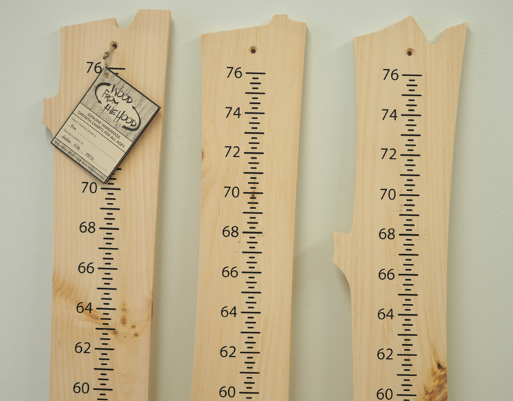 Wood from the Hood Growth Chart