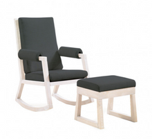 Senza Rocker and Ottoman