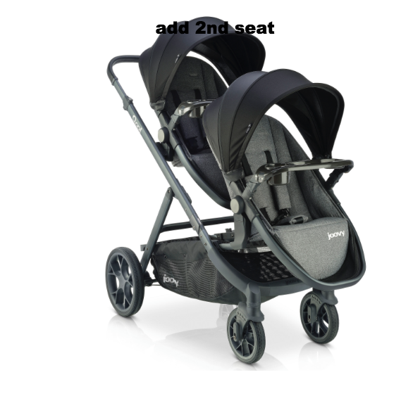 Qool Single to Double Stroller