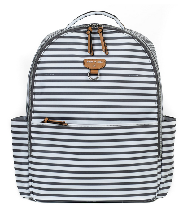 On-the-Go Backpack in Stripe
