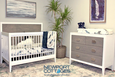 Newport Cottages Devon Crib + Dresser