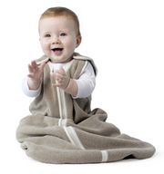 Baby DeeDee Sleep Nest Fleece Mocha 1.2