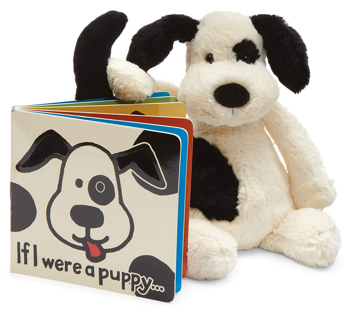 Jellycat If I Were a Puppy + Bashful Puppy Gift Set