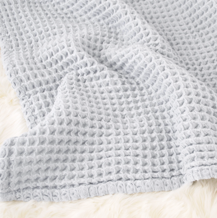 Sugar Maple Cloud Blanket Light Blue