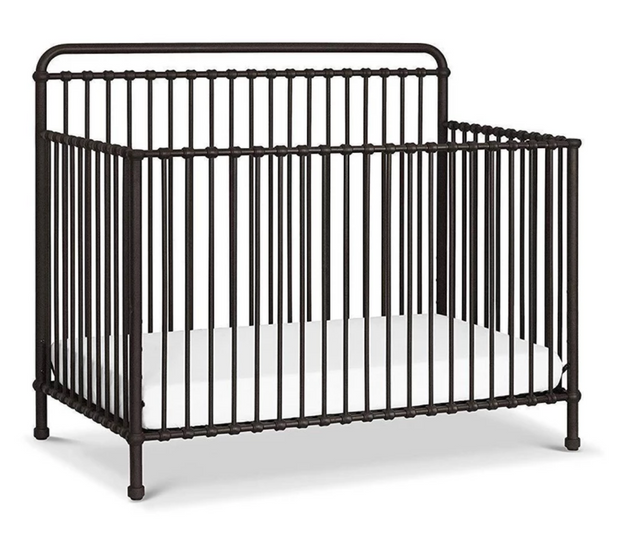 Million Dollar Baby Classic Winston 4-in-1 Convertible Iron Crib