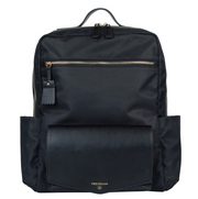 Peek-A-Boo Backpack in Black