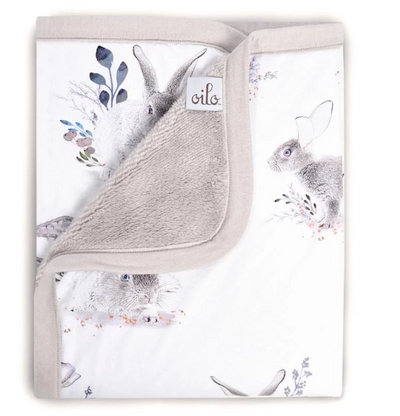 Oilo Cottontail Bunny Cuddle Blanket
