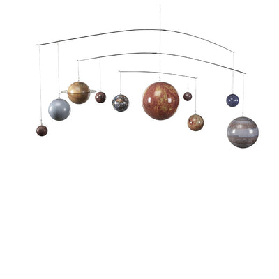 Authentic Model Solar System Mobile