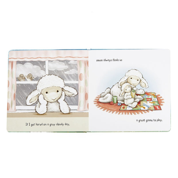 Jelly Cat  My Mommy and Me Gift Set- Lamb