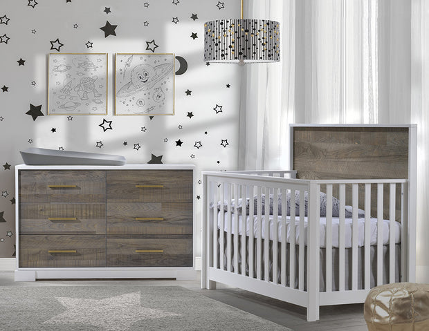 Vibe Crib and Dresser Collection
